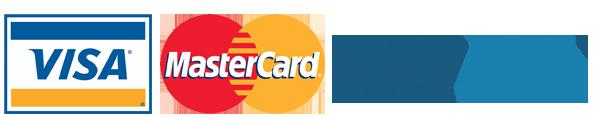 Pay by visa, mastercard and paypal